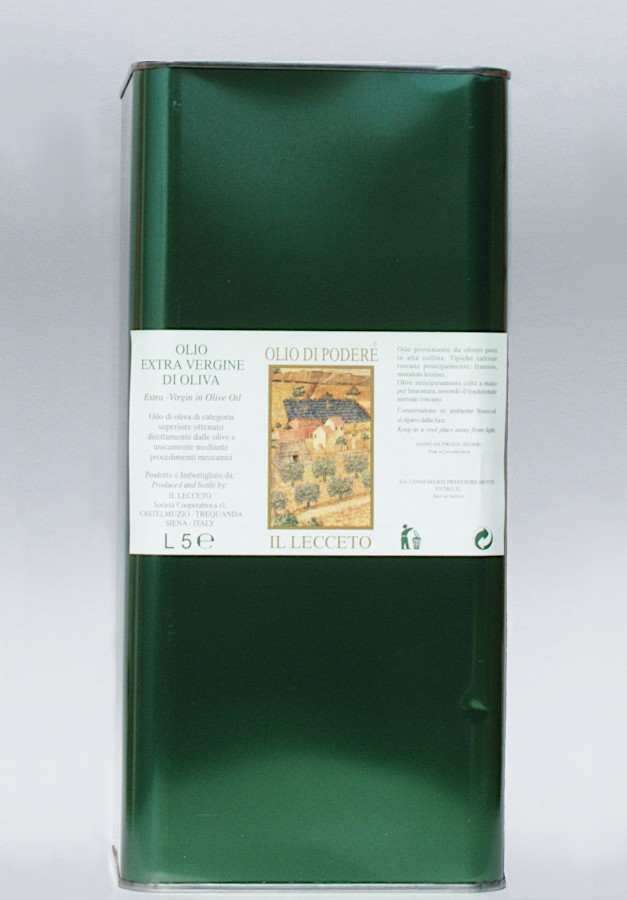 EXTRAVIRGIN OLIVE OIL Lt.5 2020
